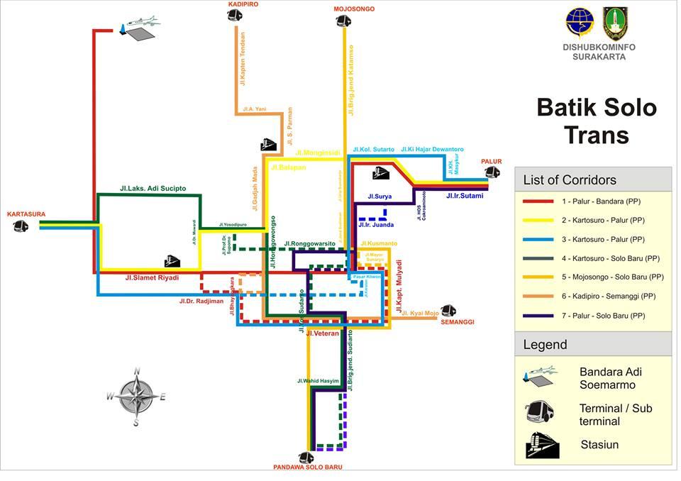 Batik Solo Trans Route