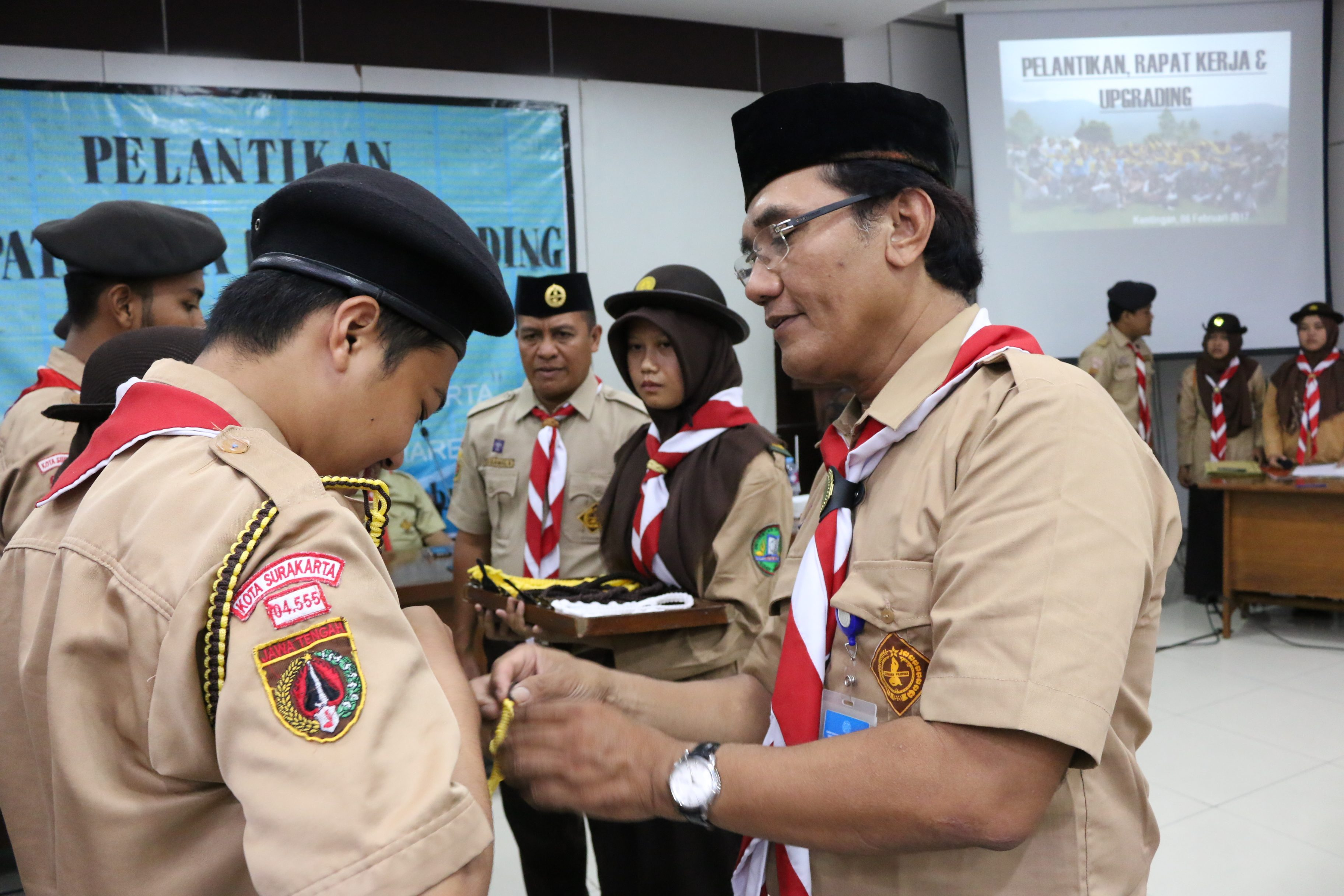UNS Scouting Committee of 2017 Period Officially Inaugurated