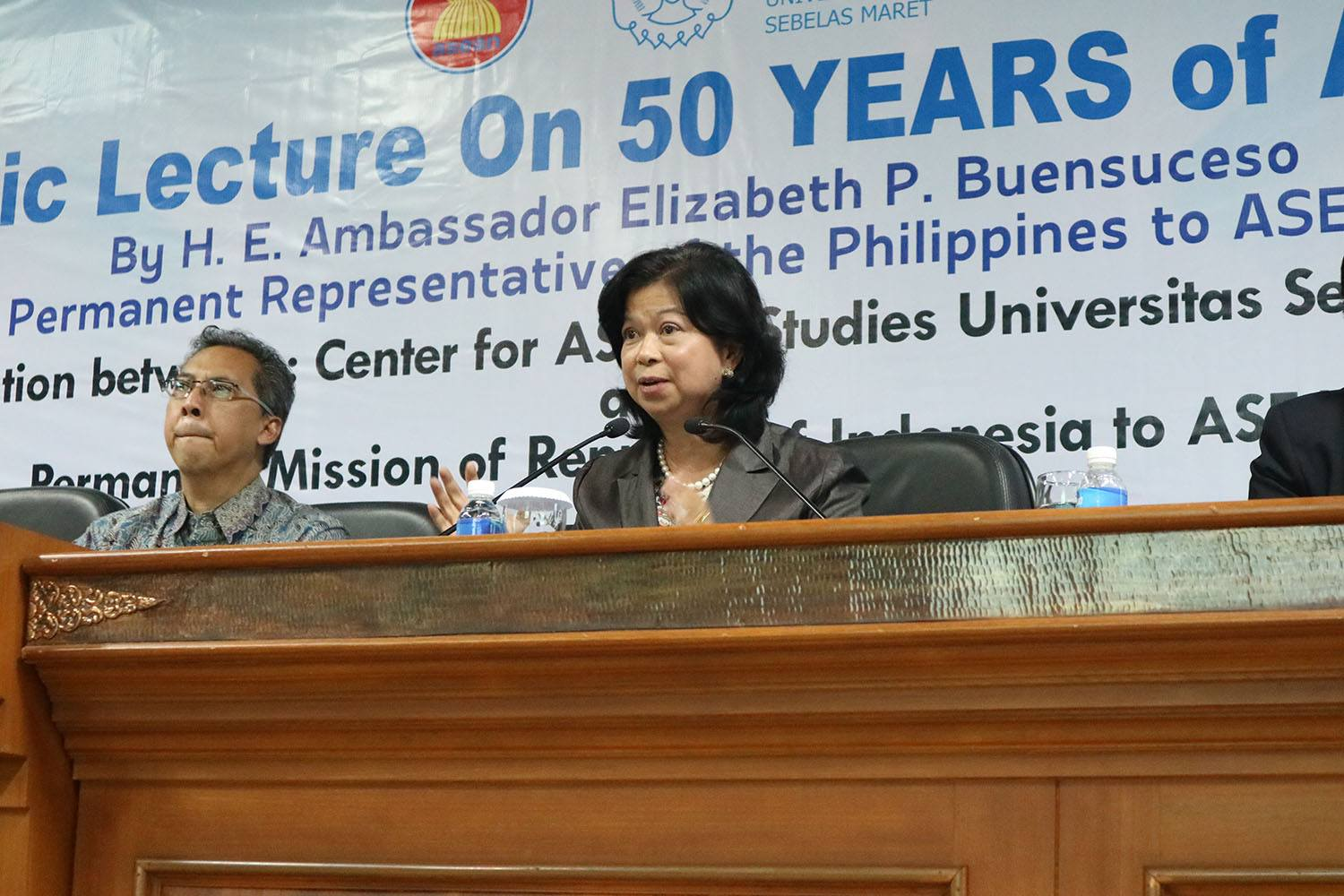Visiting UNS, ASEAN Ambassador Gives General Lecture on ASEAN and the Philippines ASEAN Chairmanship