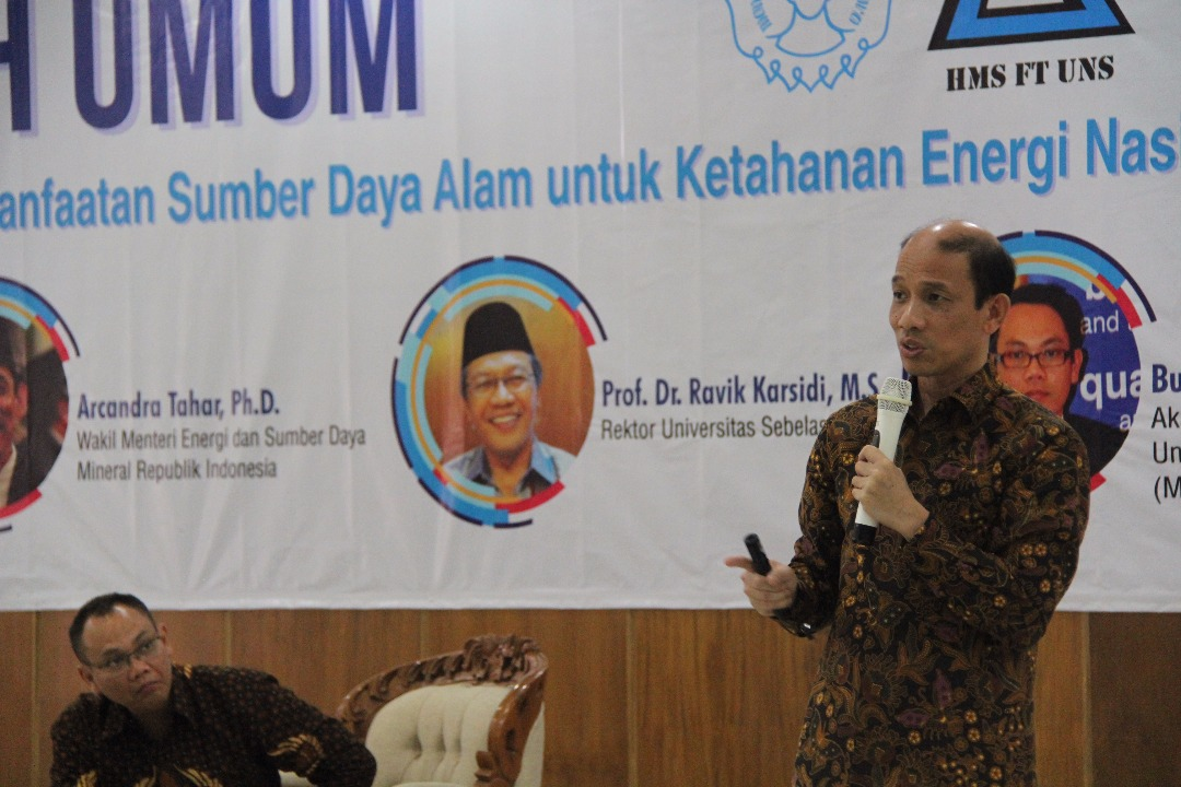 FT UNS Conducts Public Lecture on Technology and Natural Resources Utilization