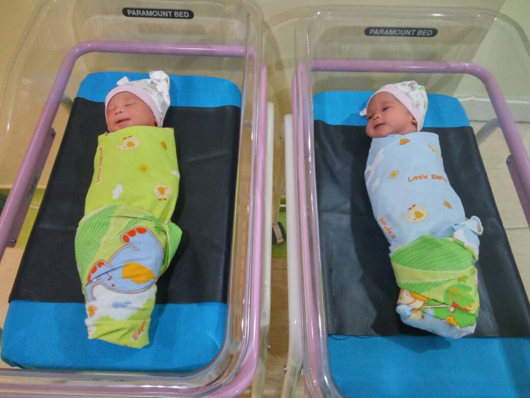 First Twins Born at UNS Hospital