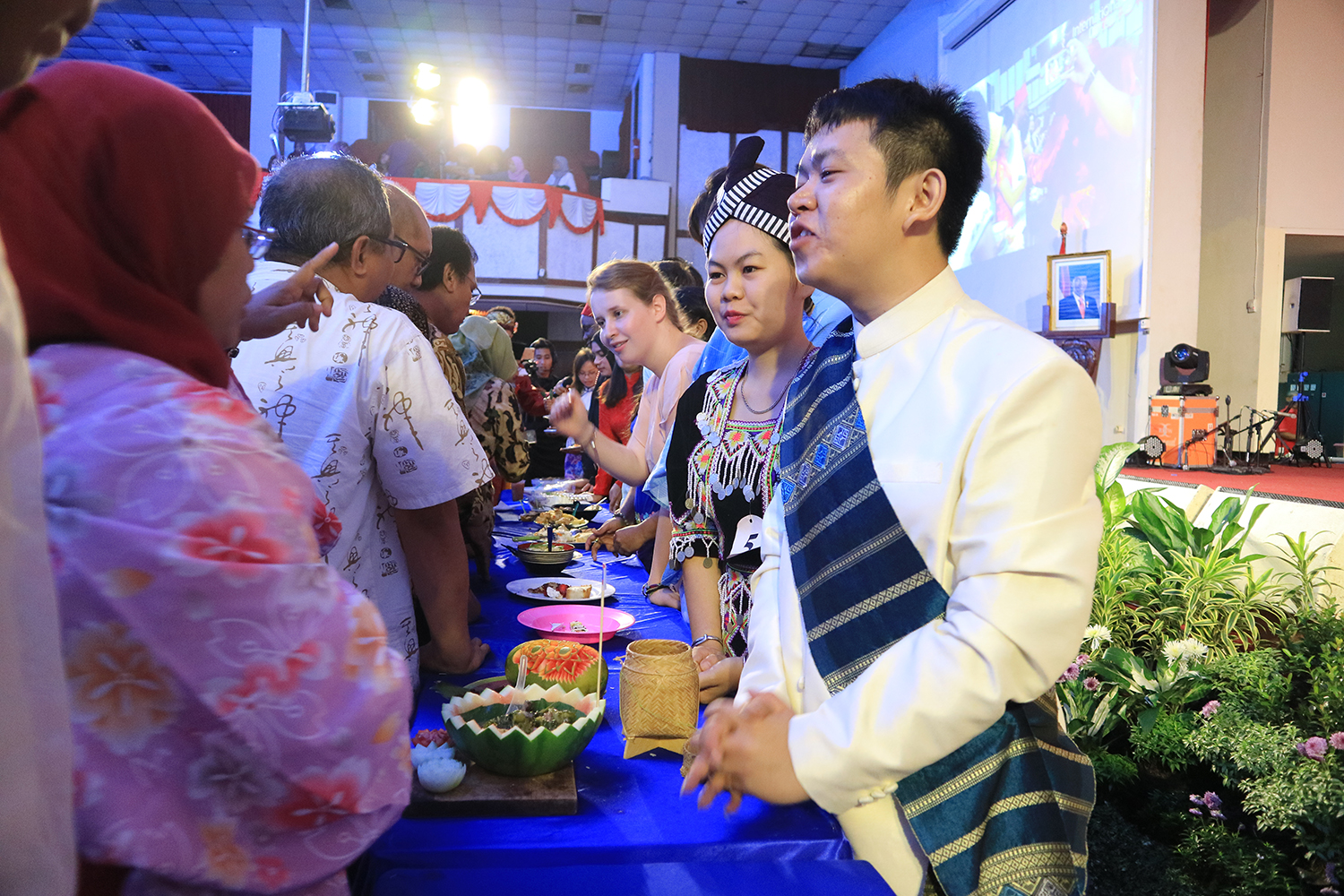 International Students Introduce Their Home Countries' Food in UCN