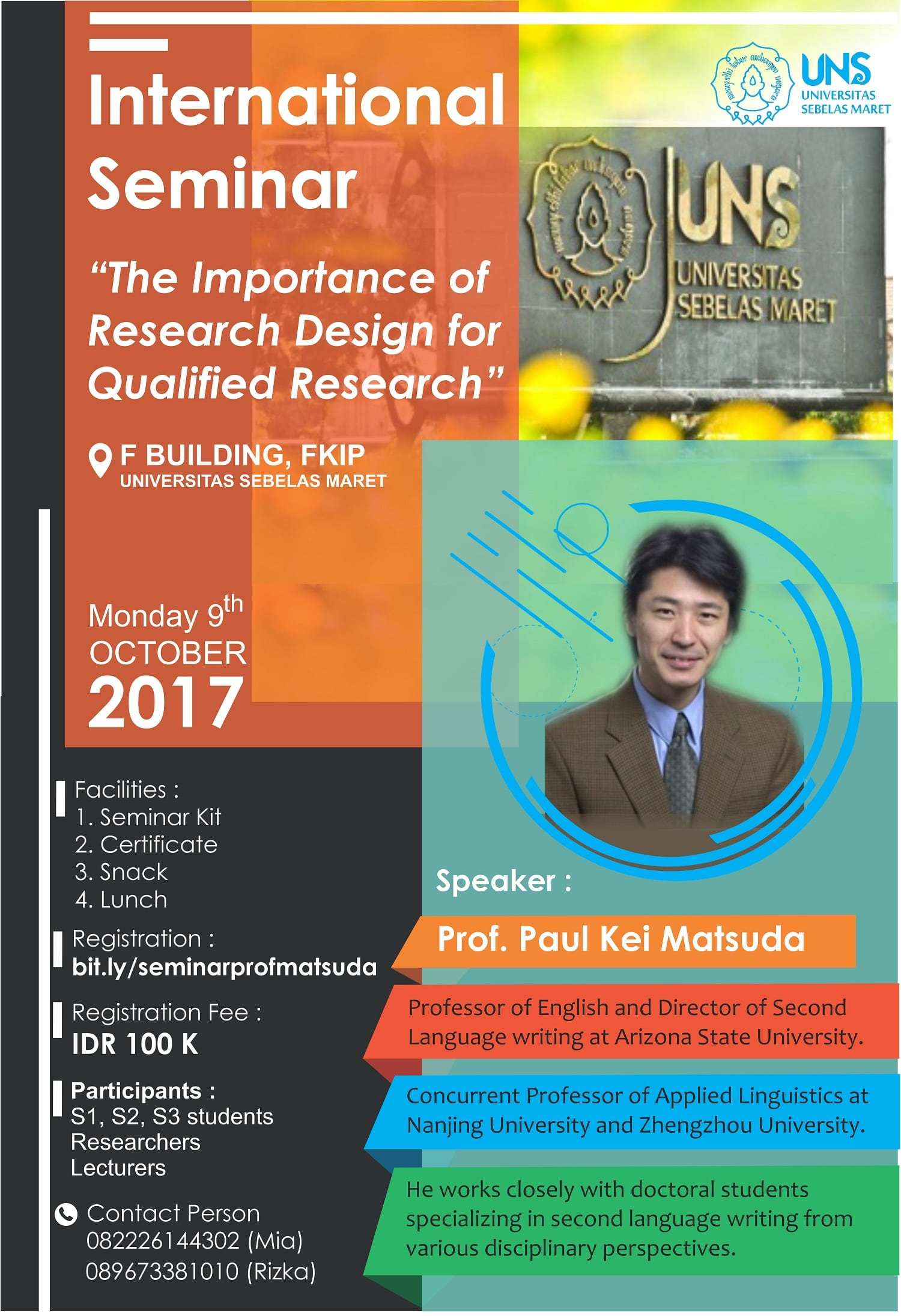 International Seminar on Research Design