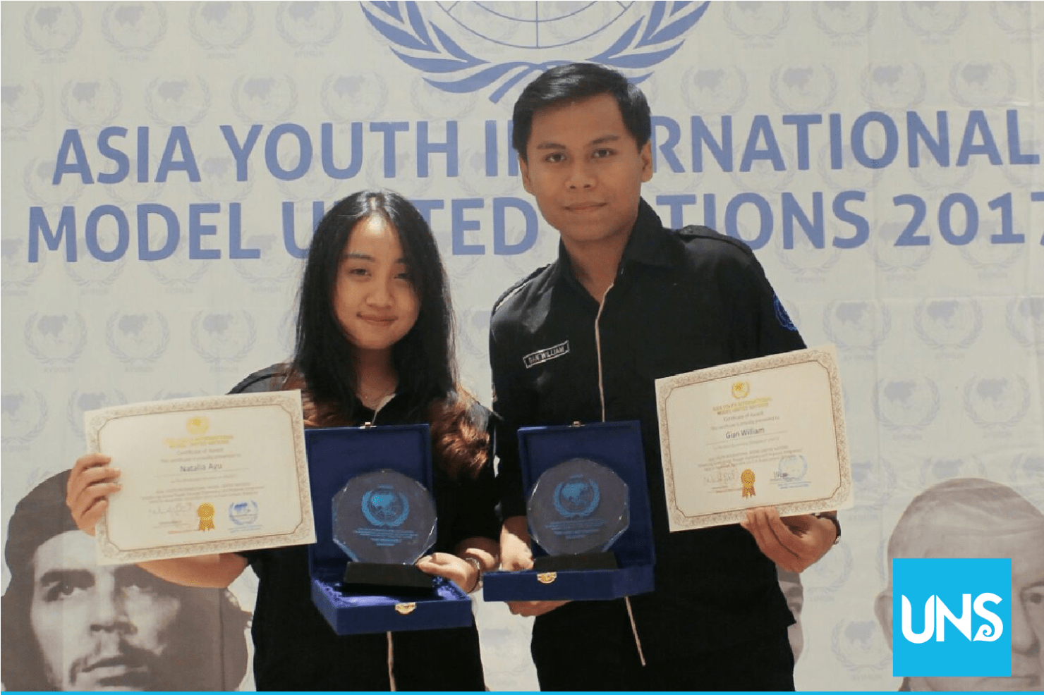 UNS Students Win Title in Asia Youth International Model United Nations