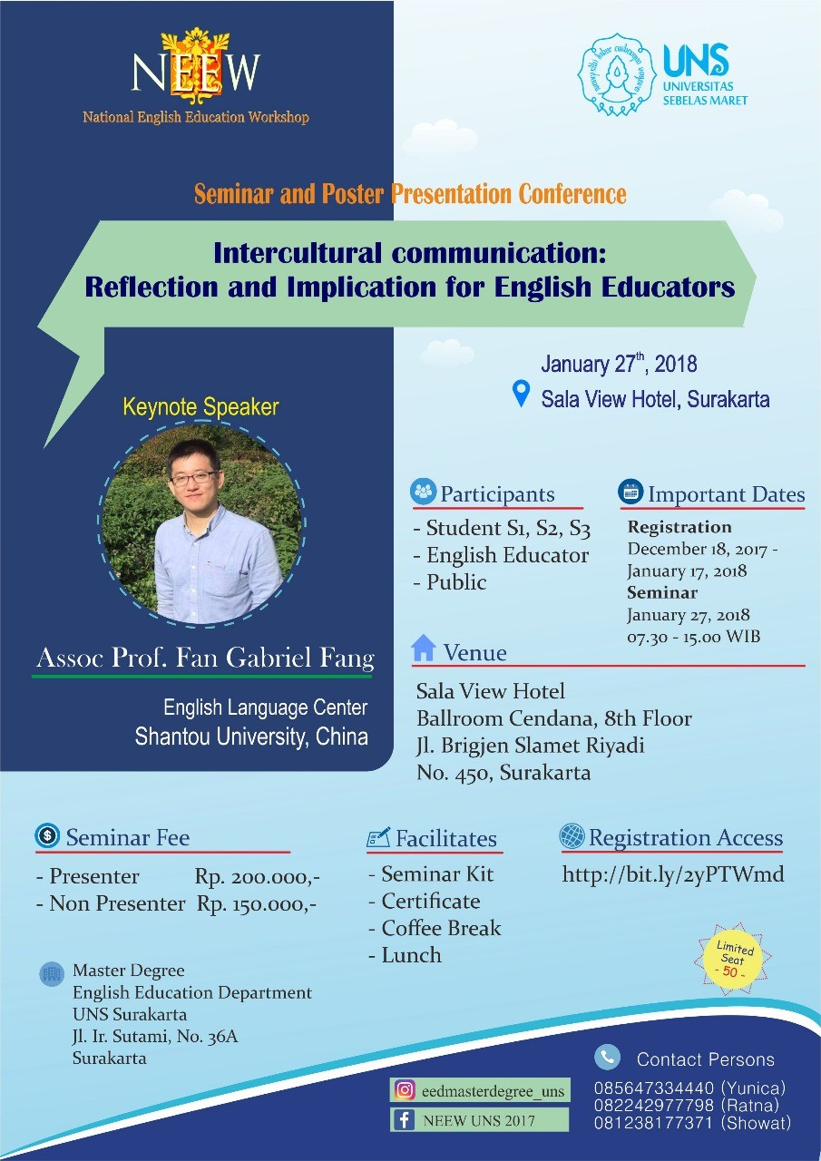 4th National English Education Workshop 2018