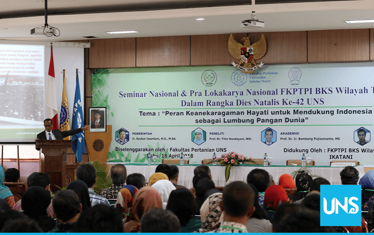 Faculty of Agriculture UNS Supports Indonesia as a World Food Barn 2045