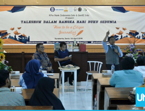 Commemorating World Book Day, UNS Library and Bank Indonesia Solo Hold Journalism Talk Show
