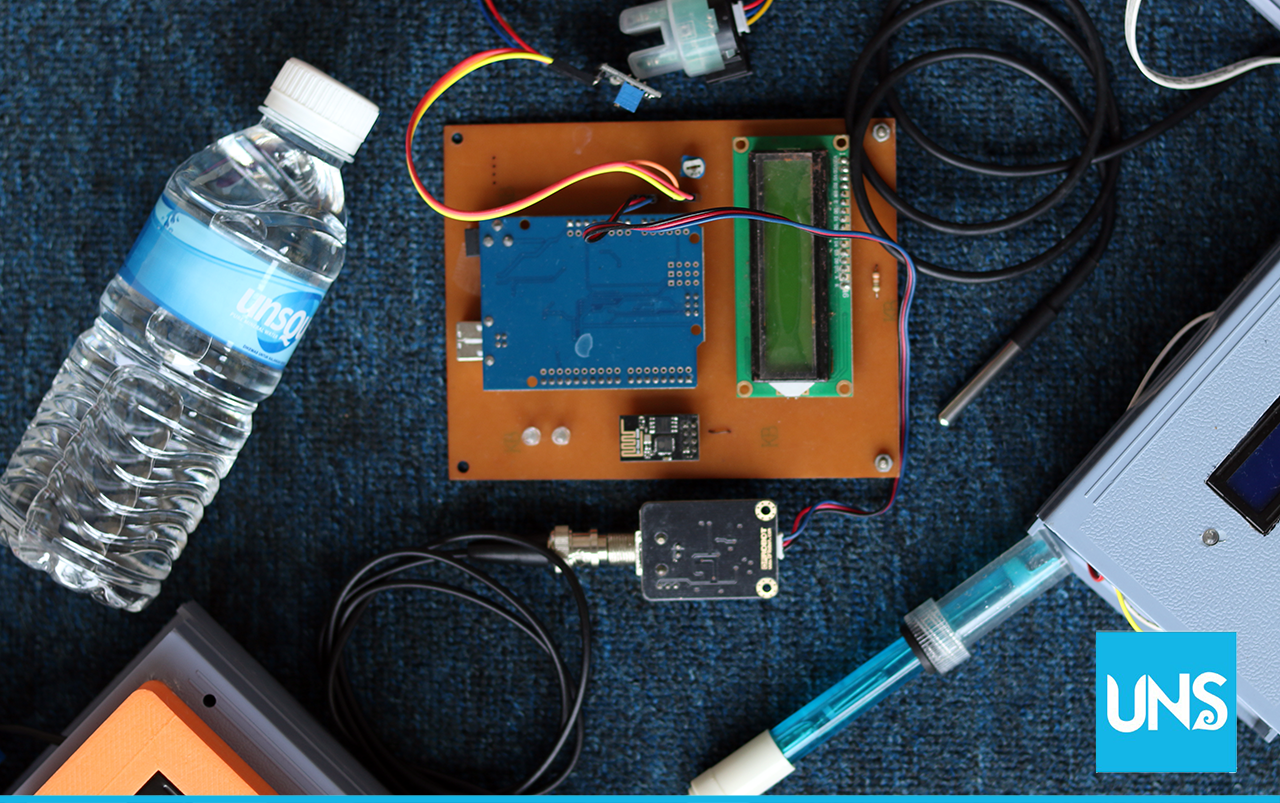 Energy Monitoring and Clean Water Alert (EM SIAB) prototype