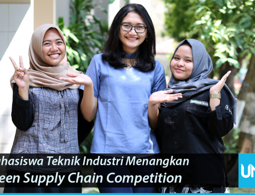 Three Industrial Engineering Students Win a Green Supply Chain Competition