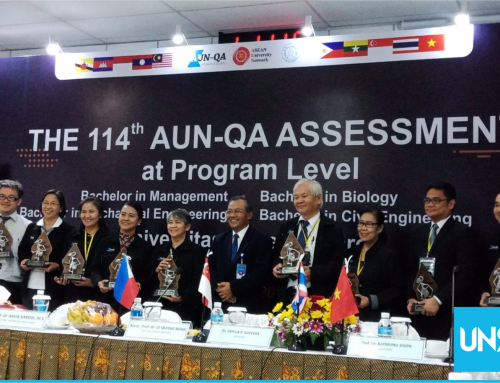 Four Departments of UNS Assessed by AUN QA