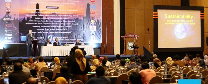Civil Engineering UNS Holds the 4th International Conference on Rehabilitation and Maintenance (ICRMCE)