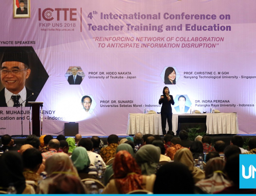 Holding ICTTE 2018, FKIP UNS Discusses Information Disruption
