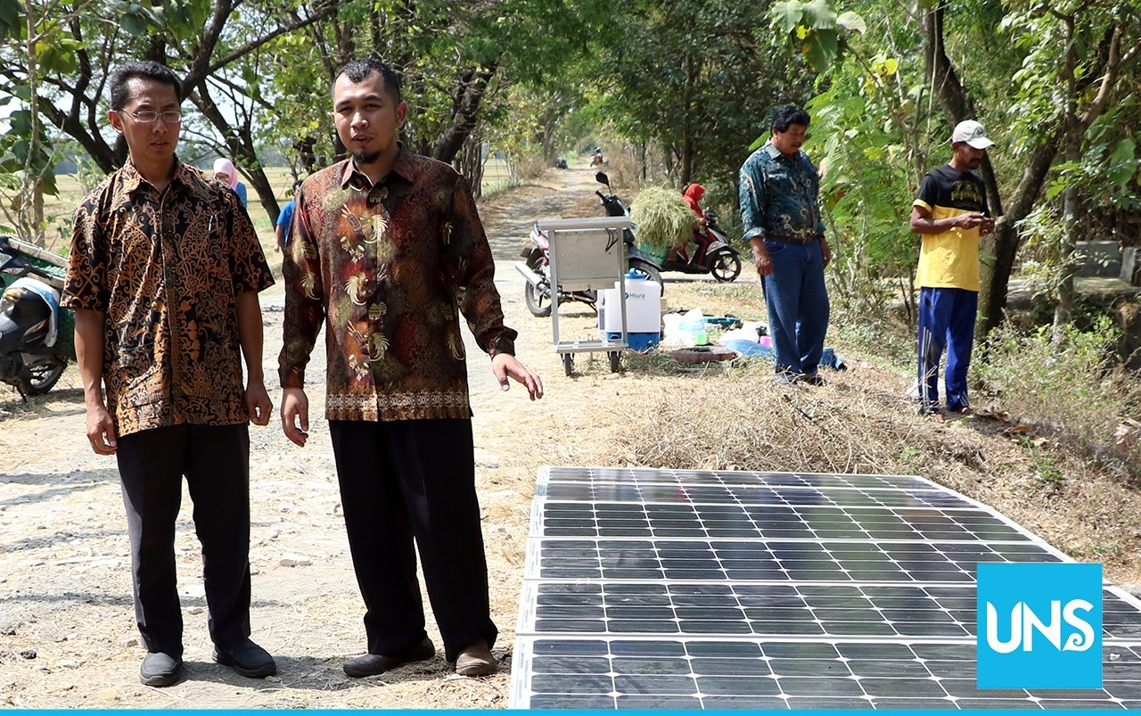 SPATS Solar Water Pump System