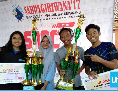 Winning Orienteering Competition, Mapala UNS Donates the Prize for Tsunami Victims