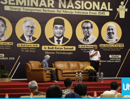 Civil Week UNS: Developing Railroad System becomes a Future Transportation Mode