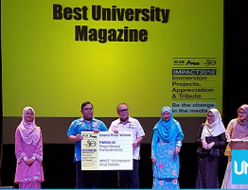 Again, VISI Magazine UNS Wins an award in the International Competition