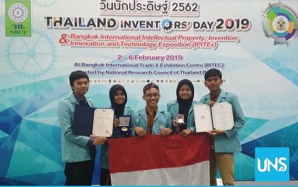 Create Advanced Laptop Bag, UNS Wins Award in Thailand