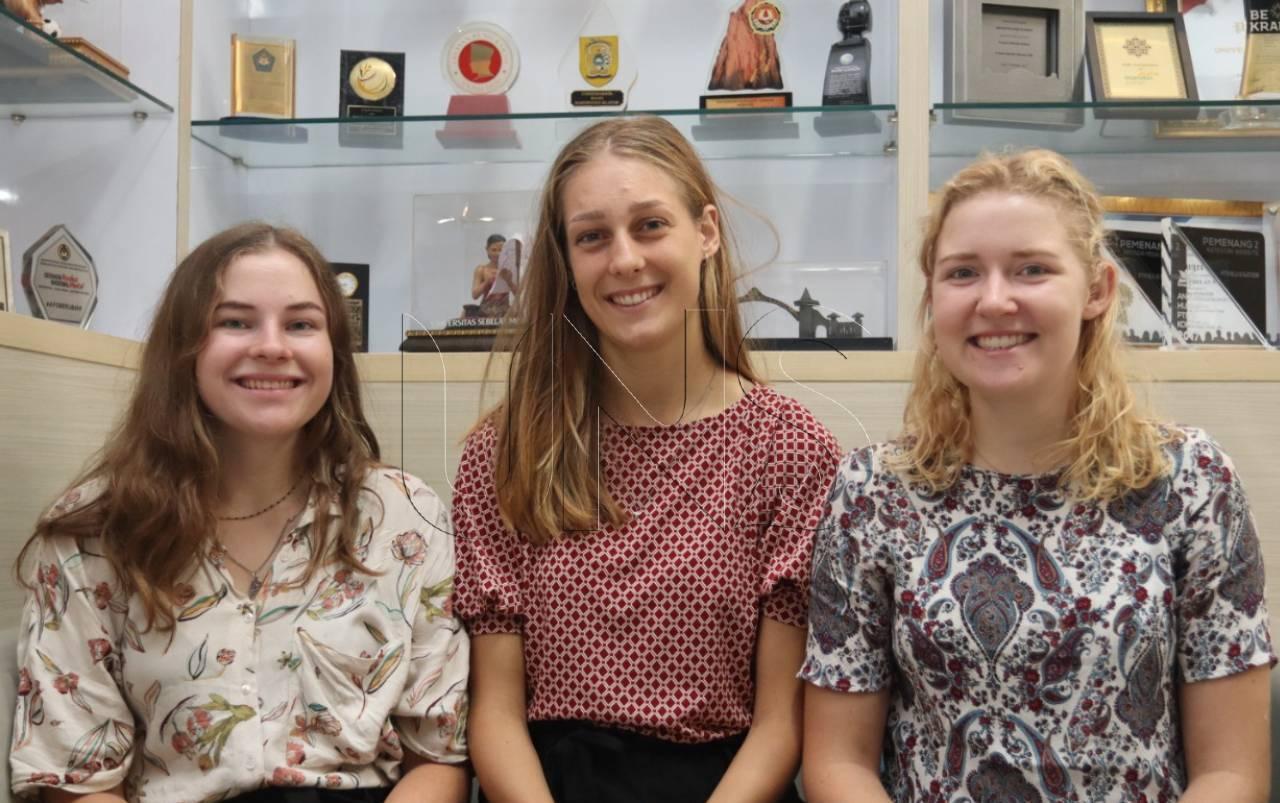 Netherlands Students Joins International Internship Program in FT UNS