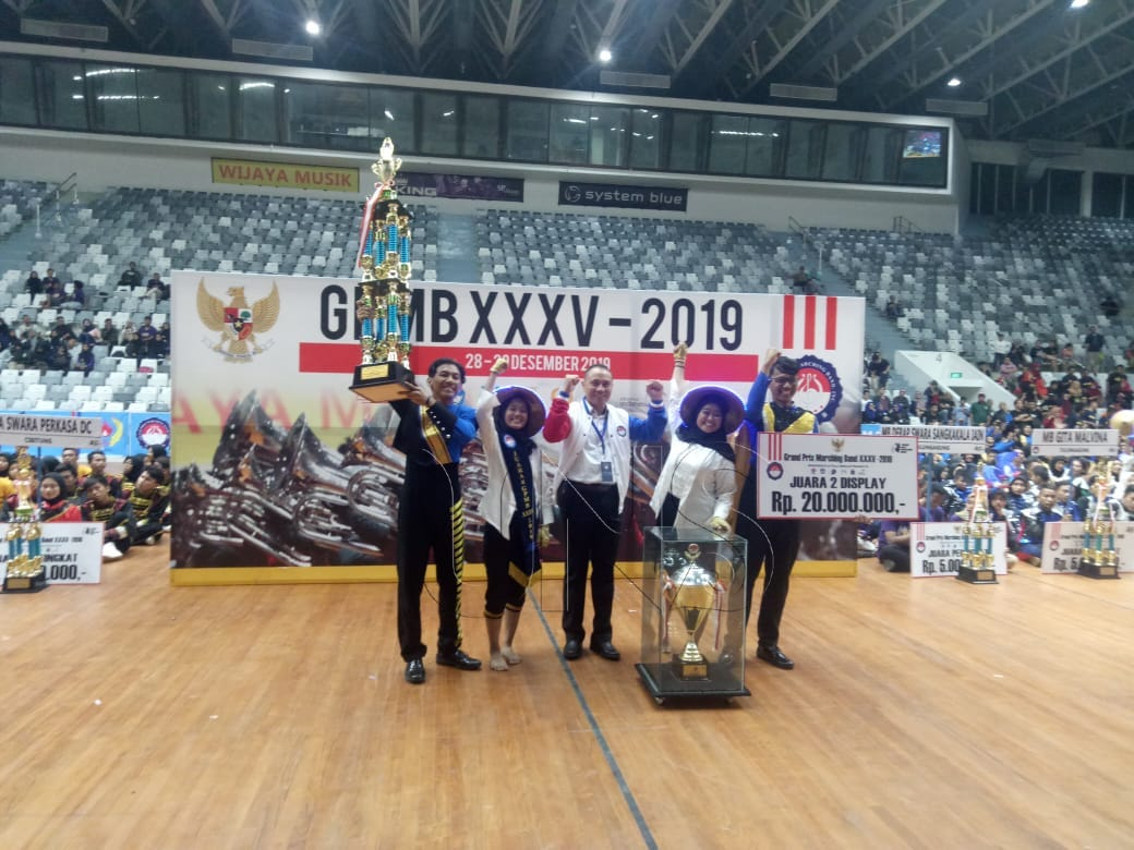UNS Marching Band Wins 2nd Champion in 2019 GPMB