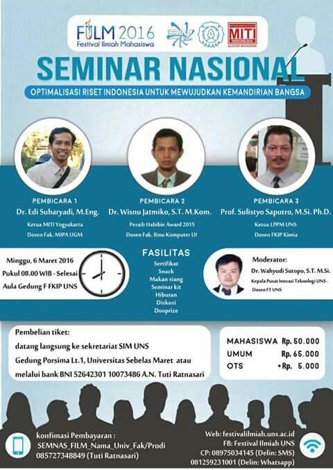 Optimalisasi Riset Indonesia Untuk Mewujudkan Kemandirian Bangsa