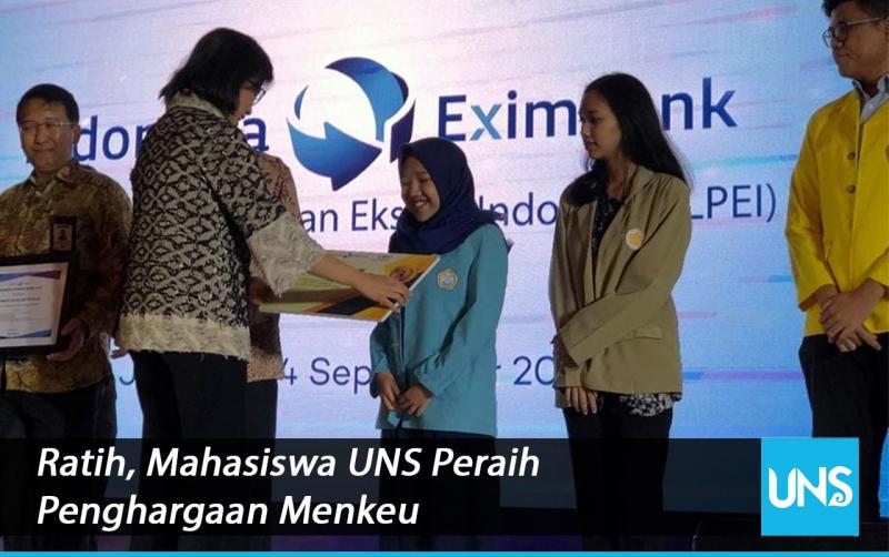 Aplikasi Perfect Ciptaan Mahasiswi UNS Meraih Juara Ketiga dalam Lomba Karya Tulis Ilmiah Nasional