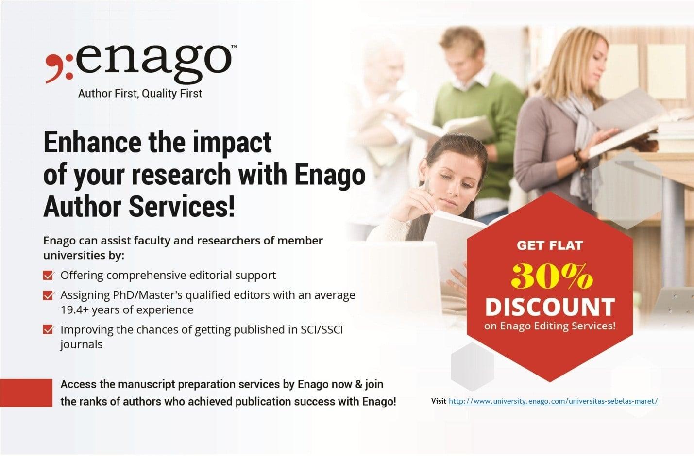 Pengembangan Riset Enago Universitas Sebelas Maret UNS
