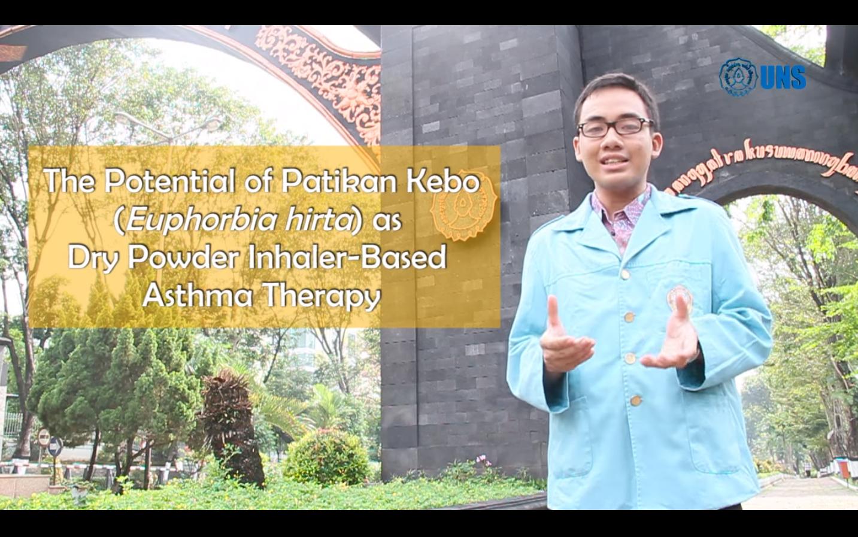 Tentang Patikan Kebo, Stefanus Erdana Putra sampaikan idenya dalam video yang ia buat dalam rangka memenuhi persyaratan ajang Mawapres Nasional 2016.