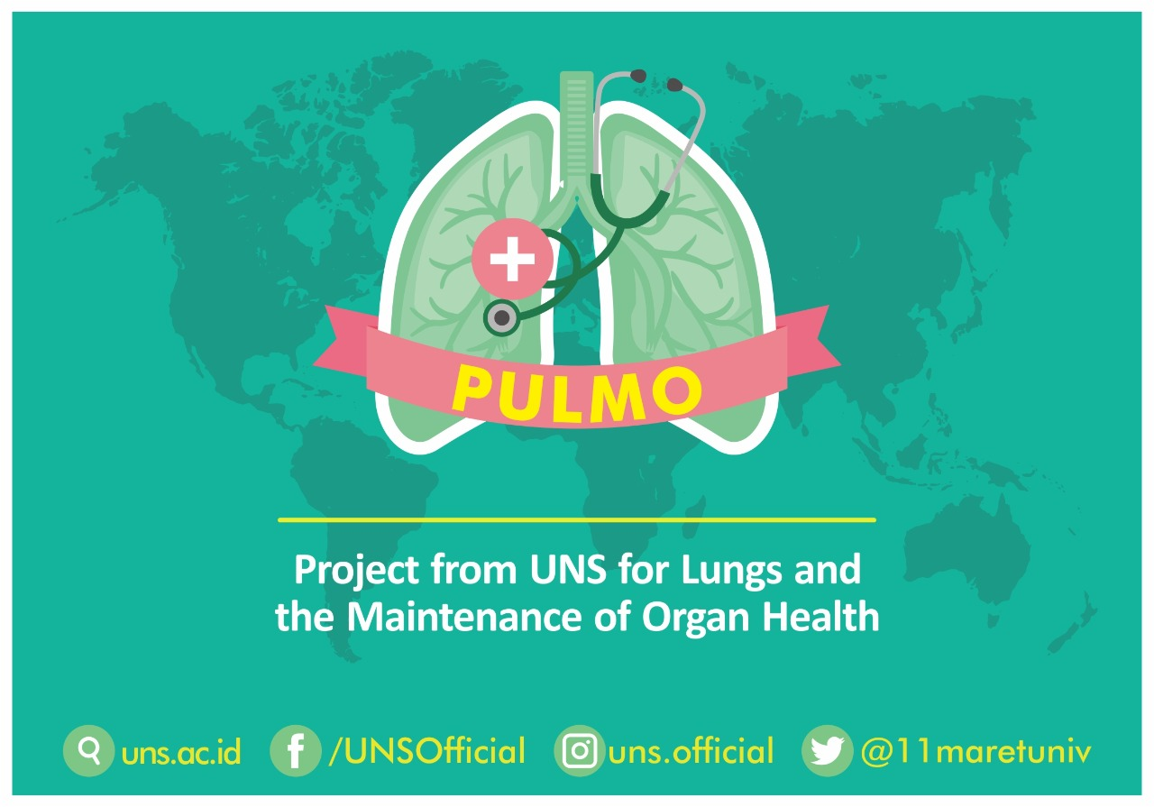 Bakti Sosial Project from UNS for Lungs and the Maintenance of Organ Health