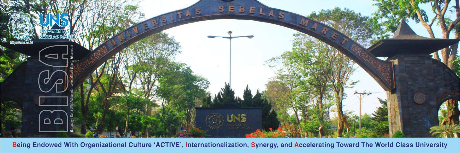 Entrance Universitas Sebelas Maret